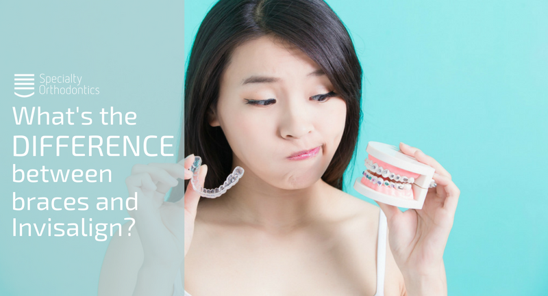 What's the Difference Between Braces and Invisalign?